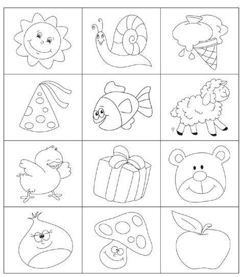 memory animali da stare e colorare paroledilatte 10 10