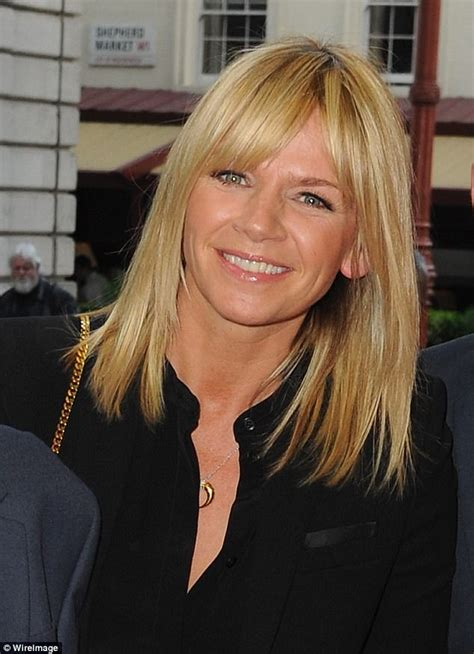 Zoe Ball talks to supportive fans about her grief   Daily ...
