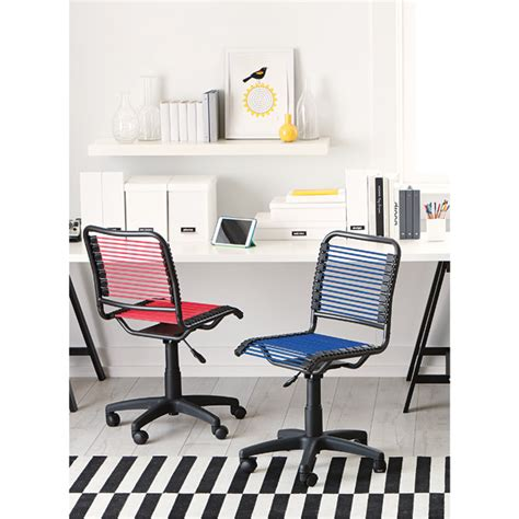 berry pink bungee office chair the container store