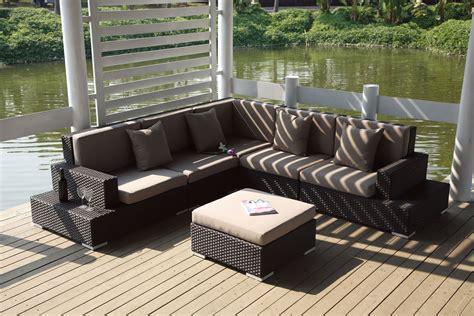 canape angle taupe mobiliers de jardin le du design extérieur