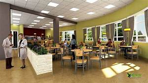3D Hospital Lobby Interior Design Rendering by ...