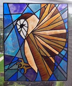 Simple Art Deco Stained Glass Patterns