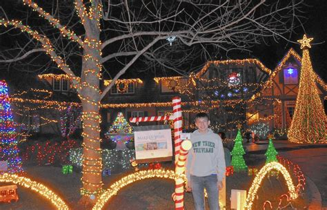 new trier student s holiday lights raise cash for charity