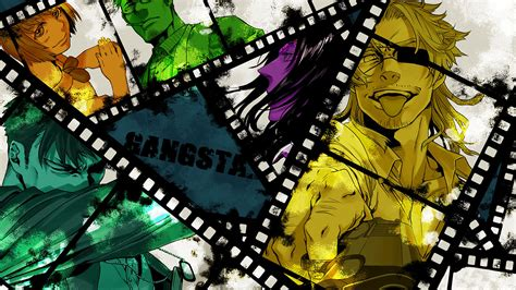 Anime Wallpaper For - gangsta anime wallpaper 77 images