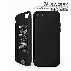 Iphone 7 Battery Case  Black