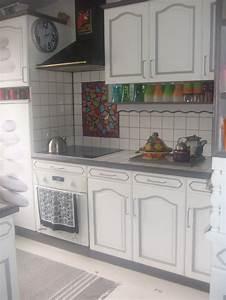 Cuisine Repeinte En Blanc : couleur cuisine ~ Melissatoandfro.com Idées de Décoration