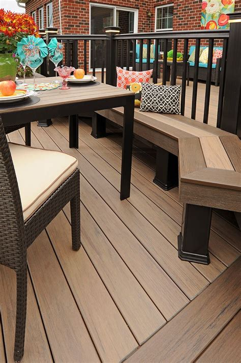 timbertech deck legacy collection  pecan  eclectic