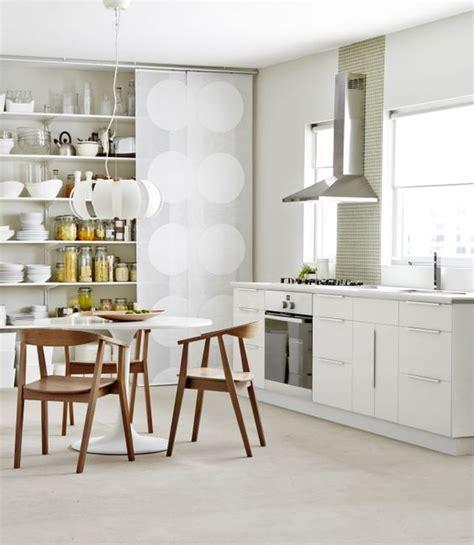 cuisine faktum ikea applåd kitchen cabinets complement the hip hanging