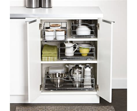 pull out cabinet organizer simplehuman 9 inch pull out cabinet organizer