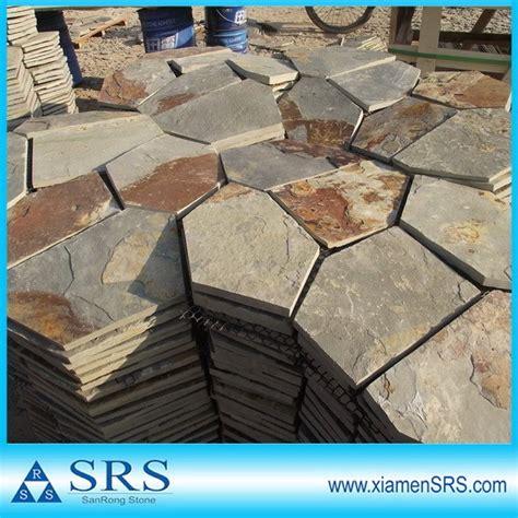 flagstone mat natural grey flagstone mat mesh stone tile view flagstone mat mesh stone tile srs product