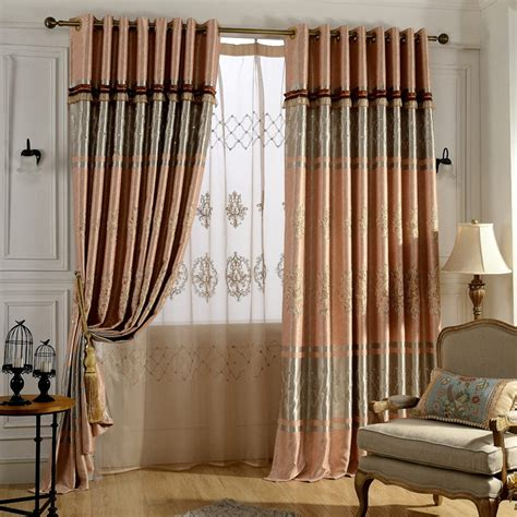 window valances for living room מוצר european embroidered blackout curtains for living 13381