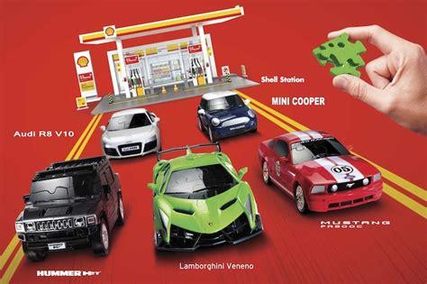 Shell V-power Vroom Puzzle Series