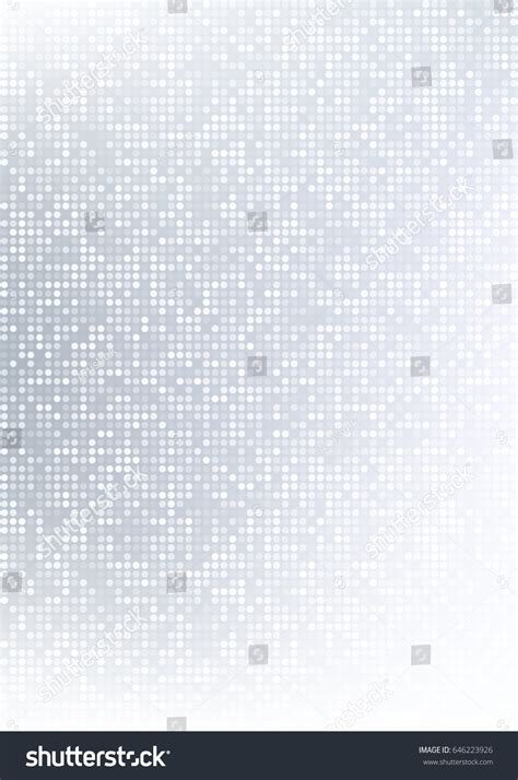 Abstract Light Gray Technology Circle Pixel Stock