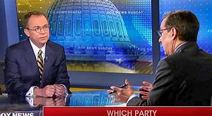 Wallace Nails Mulvaney For Hypocrisy On Shutdown: 'You ...