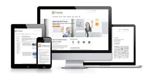Website Design // Client: Chmura Economics // Agency: Kiwi ...