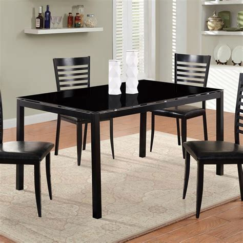 Global Furniture Dining Table Wblack Glass Top  Beyond. Beach Wedding Decoration Ideas. One Room Apartment For Rent. Grow Room Supplies And Equipment. Indian Decoration. Home Decorators Collection Flooring. Dining Room Table And Chairs. Rooms To Go Leather Couches. Homes And Decor