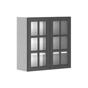glass door kitchen wall cabinets fabritec buckingham ready to assemble 30 x 30 x 12 5 in 6814