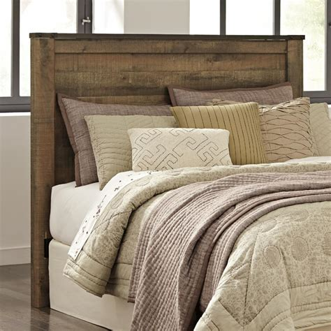 Ashley furniture is one of the largest stores on the market of home decor, furniture, etc. Signature Design by Ashley Trinell Panel Headboard - Queen, Brown, Queen | eBay