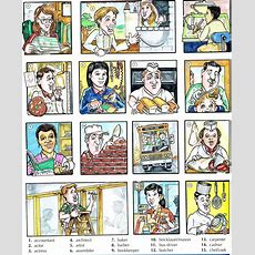 Occupations Jobs Professions Vocabulary With Pictures
