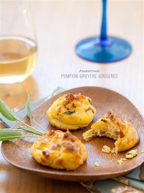 canape pumpkin savory pumpkin gruyere gourgeres recipe