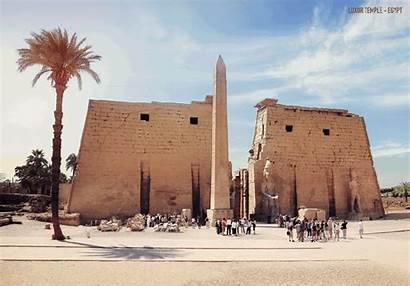 Luxor Temple Ruins Ancient Animated Gifs