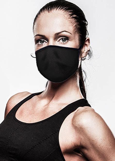 Covid-19 Face Mask - Black Quarantine Mask