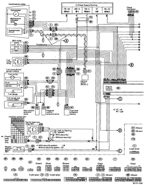 1995 Subaru Legacy Wiring Harnes Diagram by I A 1997 Subaru Legacy Wagon It Quit On Us While We