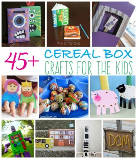 recycled cereal box craft ideas for your 836 | cereal box crafts 400x466