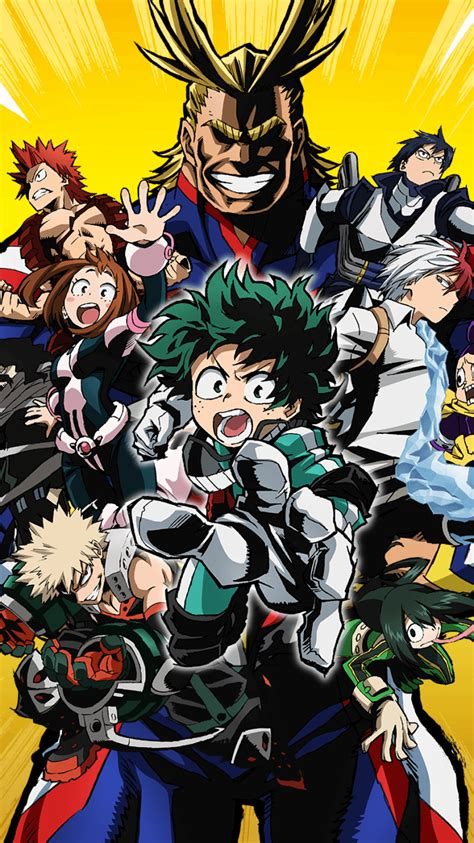 How to add an animated wallpaper for your android mobile phone. My Hero Academia iPhone Wallpapers - Top Free My Hero Academia iPhone Backgrounds - WallpaperAccess