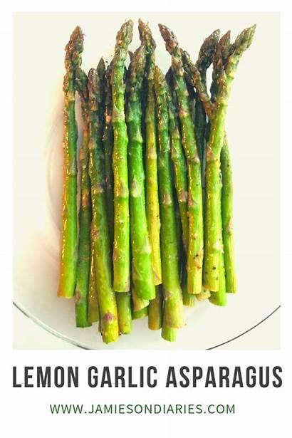 Asparagus Garlic Lemon Recipe Dinner Perfect Dishes