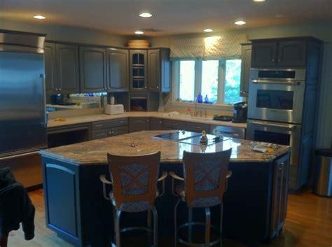 kitchen cabinet refinishing in bridgewater massachusetts