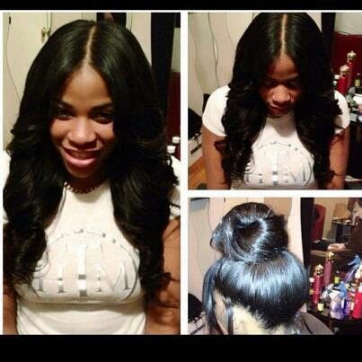 Sew In Weave Full Head Sew In Weave With A Lace Closure