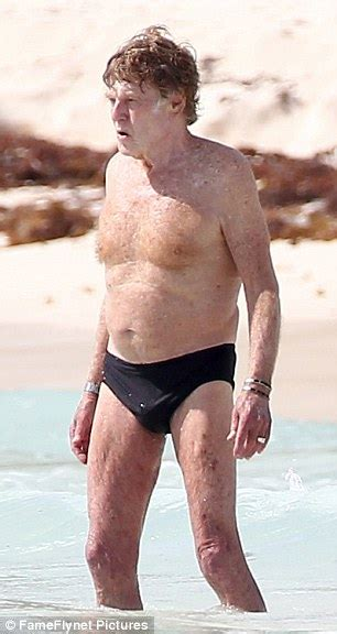 robert redford where does he live robert redford 80 looks in great shape as he takes a dip