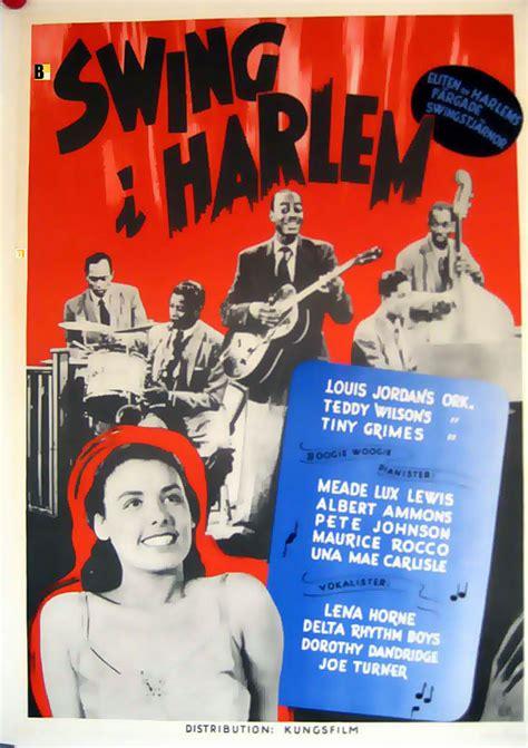"""""""swing I Harlem"""" Movie Poster  """"swing Fever"""" Movie Poster"""