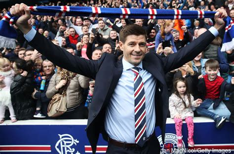 Steven Gerrard is unveiled as the new manager of Rangers ...