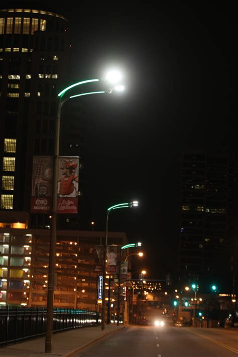 st louis lighting group new lights promise colorful safer downtown st louis