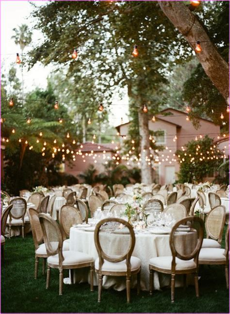 backyard wedding ideas   budget