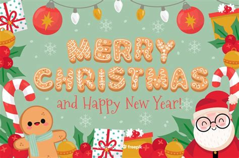 Greensock animations created by petr tichy. Free Vector | Merry christmas and happy new year background