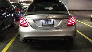 Garage Mercedes 95 : 2015 mercedes amg c63 s 510hp edition 1 parking garage revs youtube ~ Gottalentnigeria.com Avis de Voitures