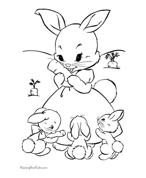 cute bunny rabbit coloring pages funny black  white