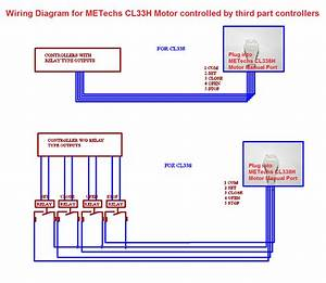 Wiring Diagram For Cl33h Controlled By Third Part