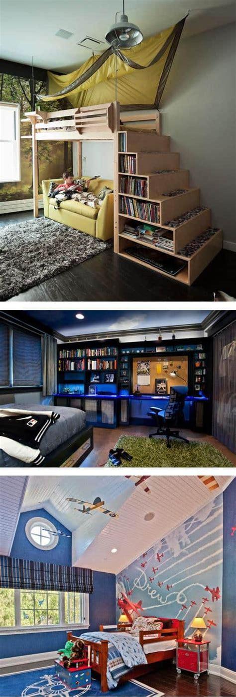 Cool Boy Bedroom Ideas by 12 Cool Bedroom Ideas For Boys Diy Cozy Home