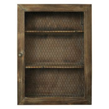 Natural Home Chicken Wire Cabinet   KOHLS SALE $59.99   My