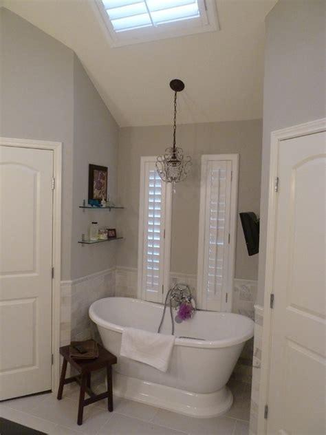 bathroom tile trim ideas master bath remodel in sherwin williams repose gray
