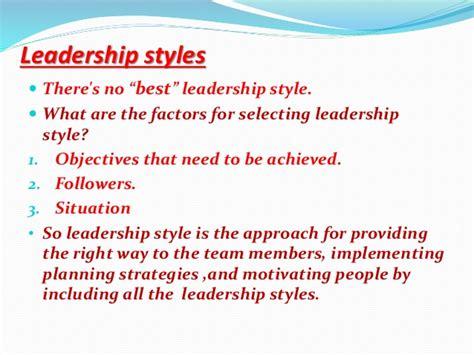 leadership styles  theories