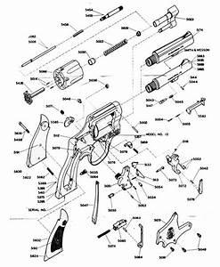 S U0026w 38 Military  U0026 Police Revolver Model 10