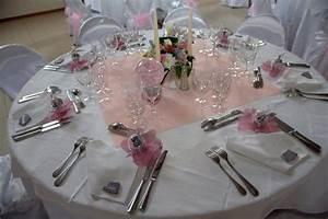 Deco Table Rose Et Gris : mariage en rose gris et argent d co de table pink ~ Melissatoandfro.com Idées de Décoration