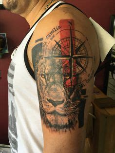 compass tattoo designs ideas  images sleeve