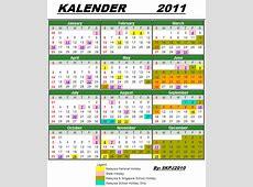 SEKOLAH KEBANGSAAN PADANG JAWA Kalender 2011 dan cuticuti