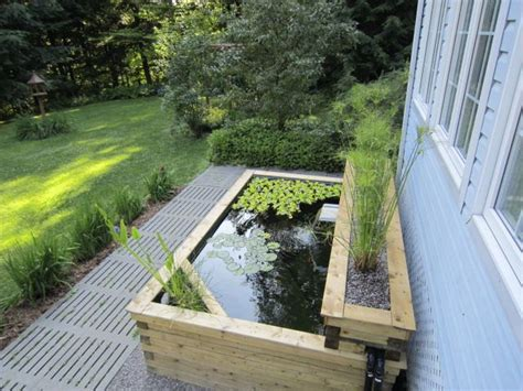 above ground koi ponds our above ground koi pond built in 2011 above ground ponds pinterest